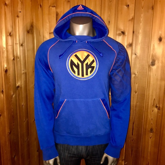 Adidas Knicks Hoodie New Basketball Nba York DW2I9eEHYb